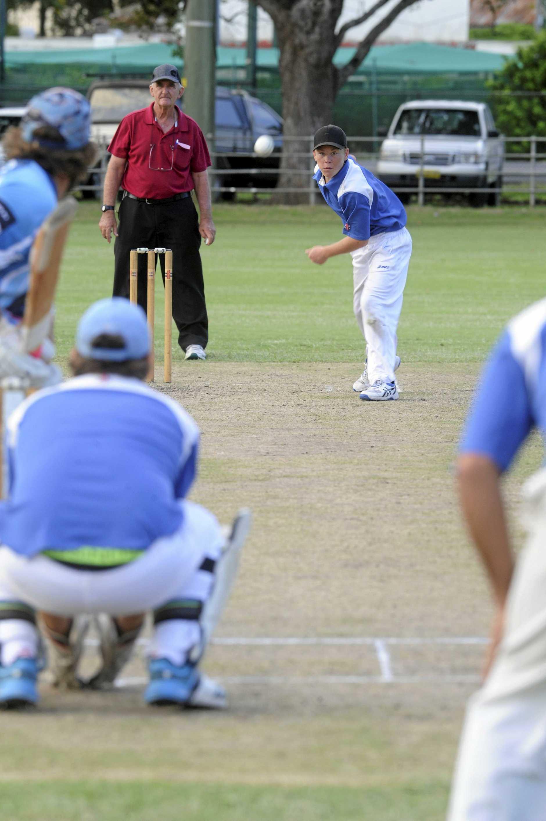 TWEAKER: Harwood left arm orthodox bowler took nine wickets at 14.33.