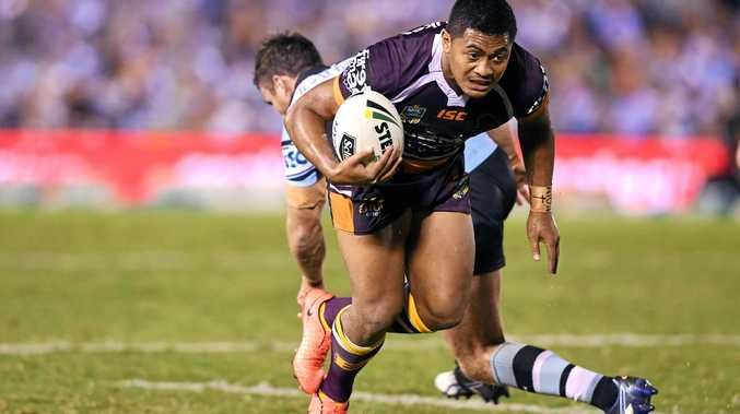 Misfiring Broncos five-eighth Anthony Milford.