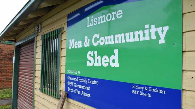 LISMORE MEN'S SHED: The shed's equipment stock was destroyed in the March 2017 floods.