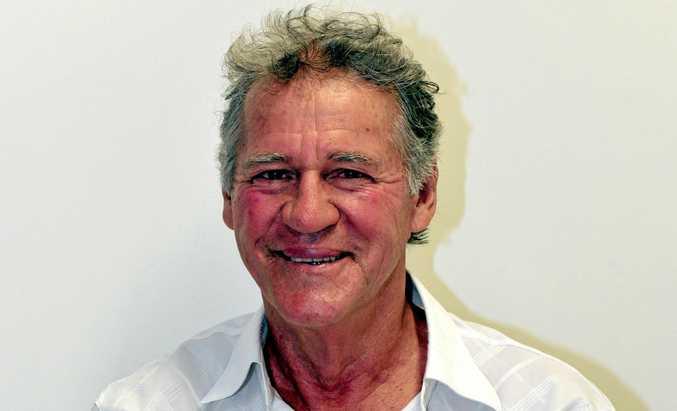 Noosa Councillor Frank Pardon.