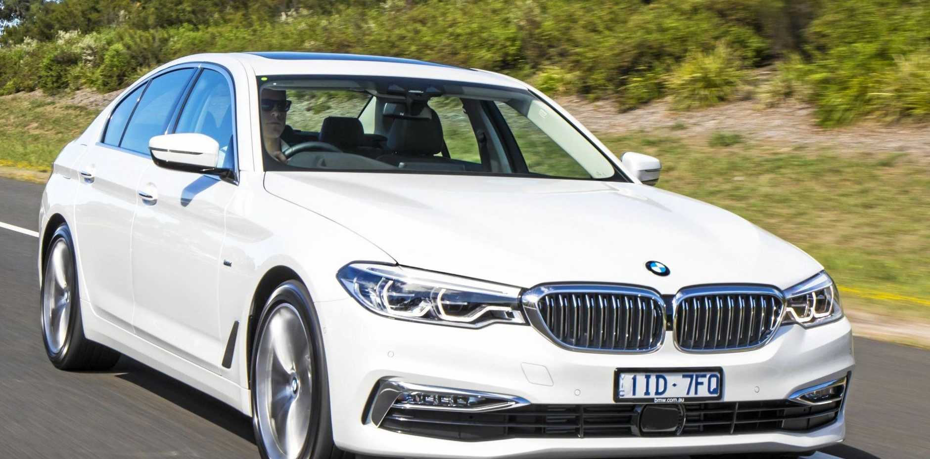 FRUGAL PERFORMER: Offering outstanding dynamics, the BMW 520d also returned consumption figures of 5.2 litres for every 100km.