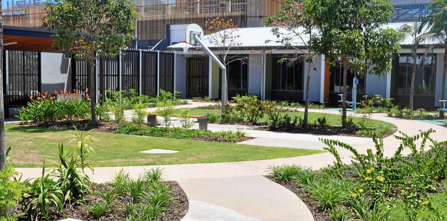The new Sunshine Coast Mental Health and Addiction Service at Sunshine Coast University Hospital.