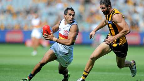 Eddie Betts of the Crows.