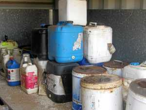 Region's farmers urged register unwanted chemicals
