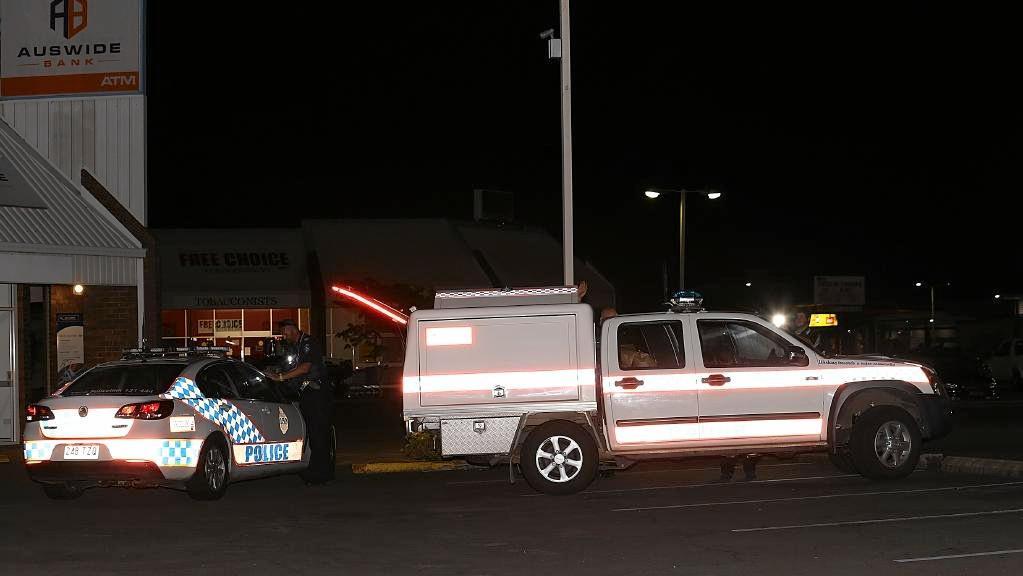 The Caboolture KFC car park where Conrad Joseph Carter allegedly dealt a deadly blow to Wayne Tolme.