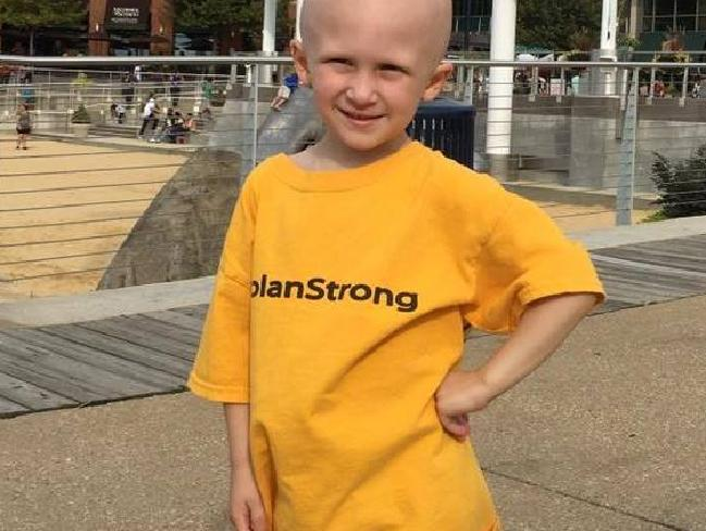 The four-year-old hero fought cancer for 18 months.Source:Facebook