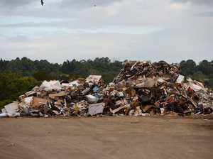 Lismore's flood rubbish destined for Ipswich