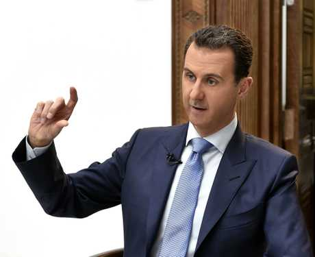 Bashar al-Assad's days as Syrian dictator are numbered according to the Trump administration. Photo: AAP.