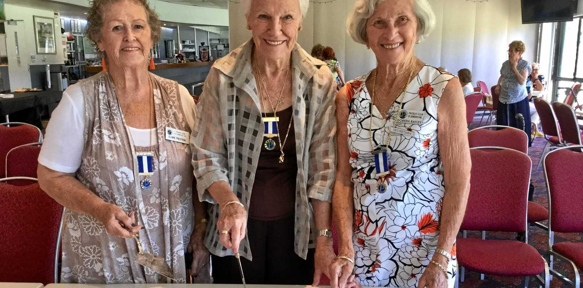 Sorrento Probus Club members recently celebrated their Silver anniversary with a delicious cake and lots of smiles.