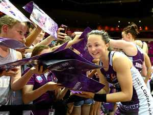 Firebirds star Caitlyn Nevins is making up for lost time
