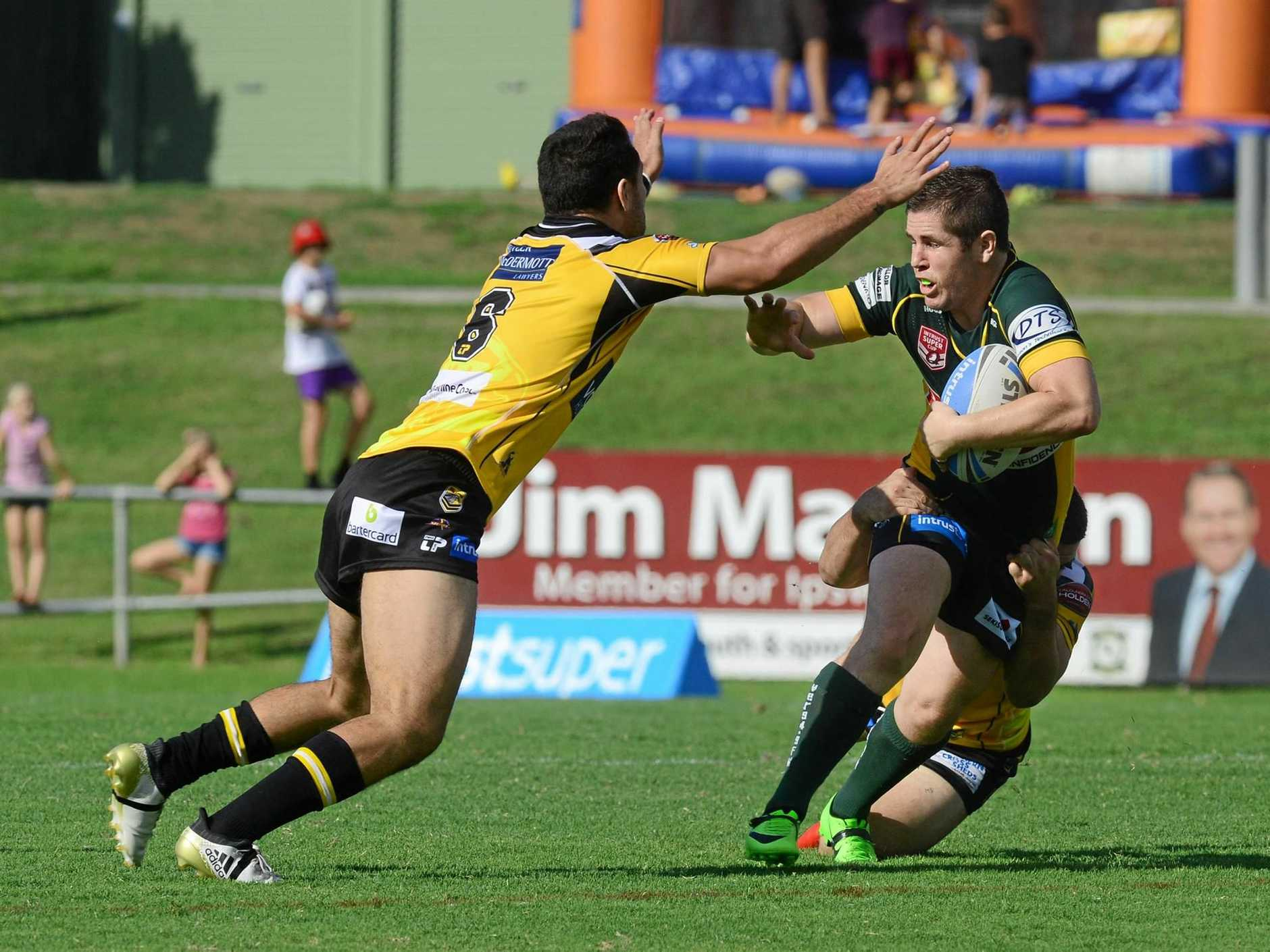 TIME TO SHINE: The Ipswich Jets will need to shrug off a recent run of poor form if they want to upset the third-placed Easts Tigers in tomorrow's XXXX Rivalry Round at North Ipswich Reserve.