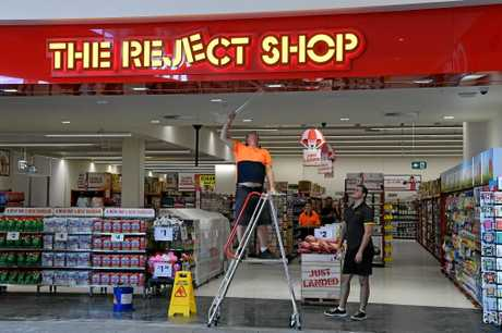 The Reject Shop in the new $30 million Stockland Kensington Shopping Centre.