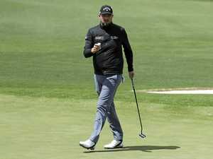Leishman's loving the Augusta breezes