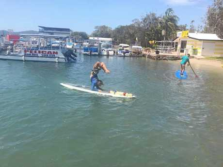 You won't be expected to have the same moves as the instructor from Noosa Stand Up Paddle but an hour out on the Noosa River is perfect for calming the mind.