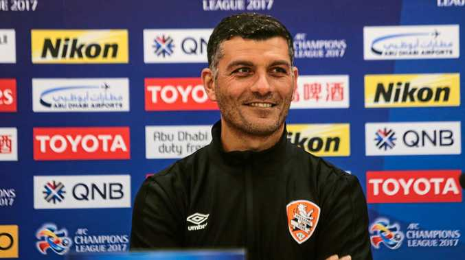 Brisbane Roar head coach John Aloisi.