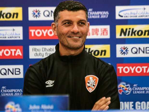 Brisbane Roar head coach John Aloisi.