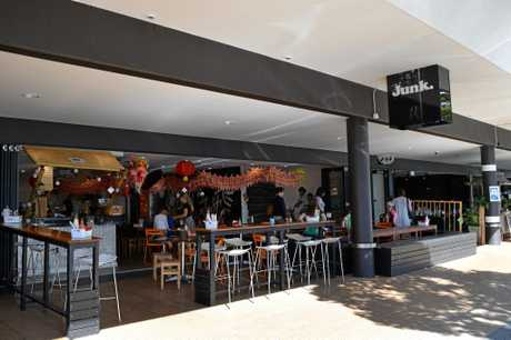 Asian street food restaurant Junk, next to its sister eatery Hello Harry, at Maroochydore's Ocean St.