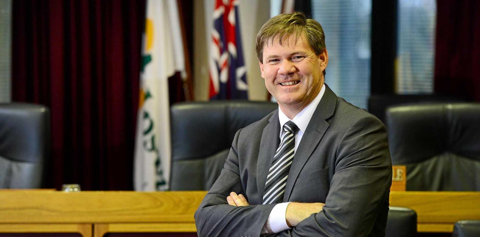Ipswich City Council CEO Jim Lindsay.