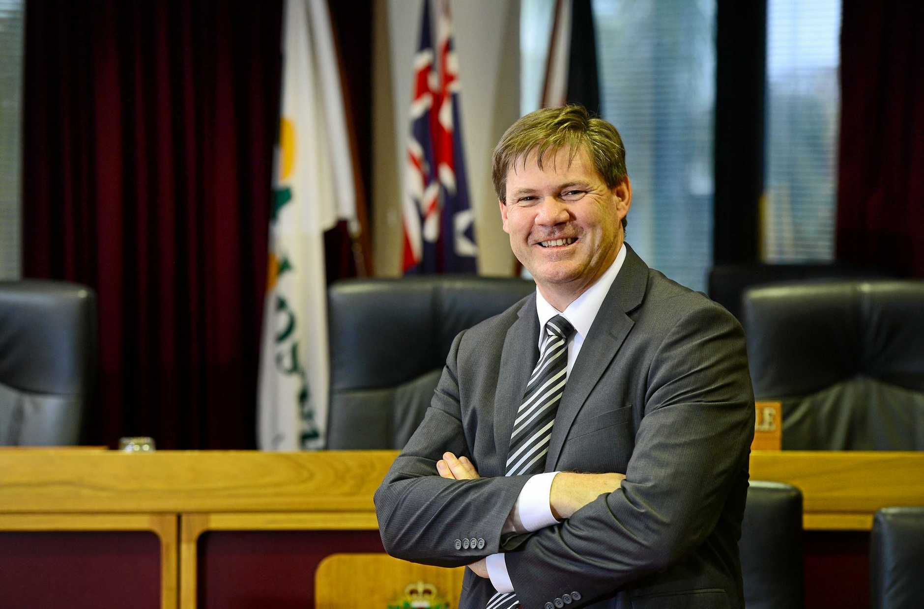 Ipswich City Council CEO Jim Lindsay.