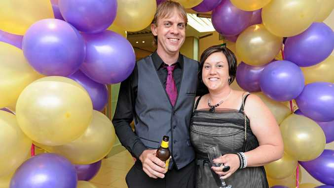 Relay for Life Purple and Gold Ball at Peppers - Mark and Natasha Robinson from Hervey Bay.  Photo: Alistair Brightman / Fraser Coast Chronicle