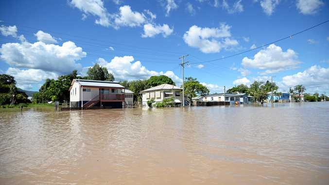 THERE could possibly be no greater sense of powerlessness than to sit waiting a week for flood waters to arrive at your doorstep, says Bill Hoffman.