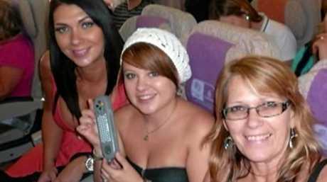 Shannah, Shandee and Vicki Blackburn before the tragic events of February 9, 2013.