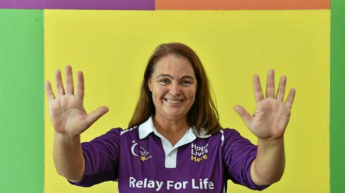 RELAY FOR LIFE: Charmaine Bailey is the new face of the Hervey Bay's Relay for Life.