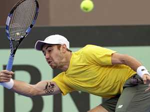 Sock shock: Thompson gives Aussies Davis Cup lead