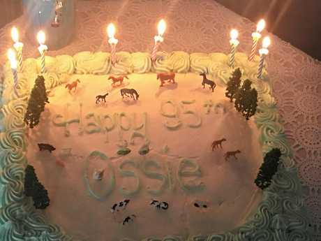 Ossie's cake.