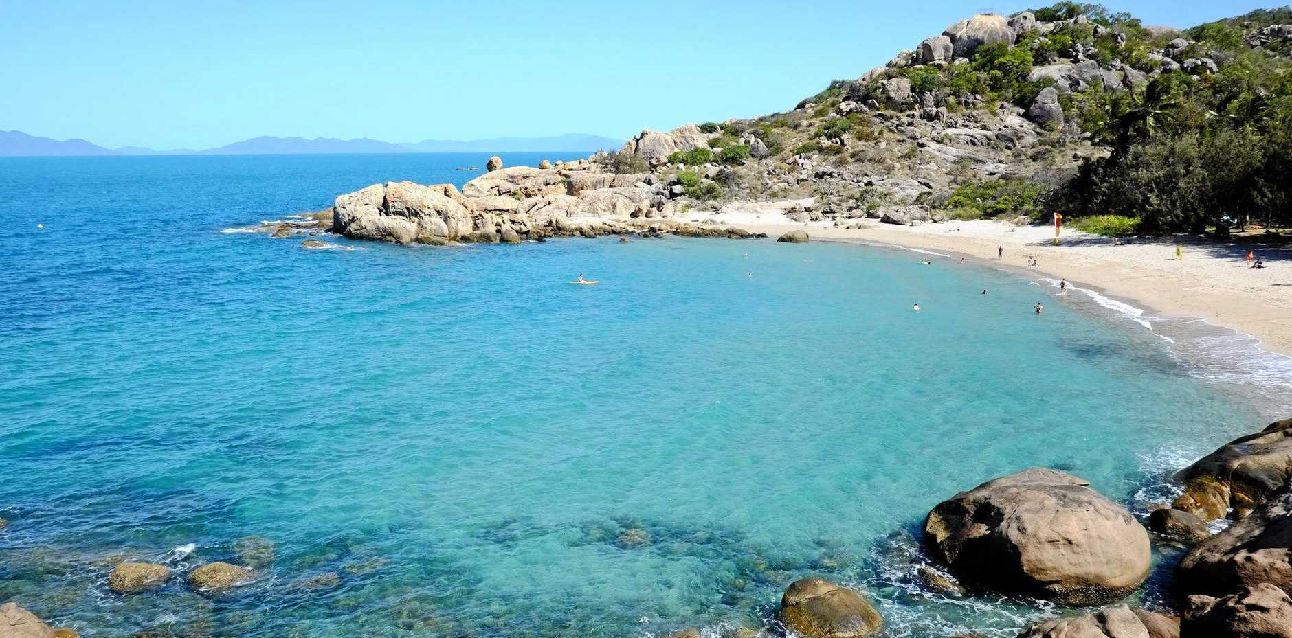 PICTURE PERFECT: Bowen's Horseshoe Bay's crystal blue waters have to been seen to be believed.