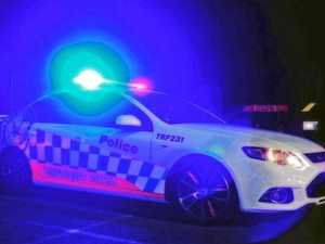 'Armed' man barricades himself in house with woman