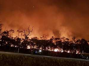 HEALTH ALERT: Bushfire near Caloundra still a danger