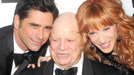 Don Rickles, pictured with John Stamos and Kathy Griffin, was one of the most beloved stars in Hollywood.