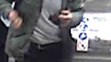 In this police handout picture of a man who is wanted in connection with the truck incident Friday April 7, 2017, that killed and injured several people in Stockholm, Sweden. Swedish police are searching for the man and say they cannot yet say how many people were killed or injured when a truck ran into a crowd in central Stockholm.