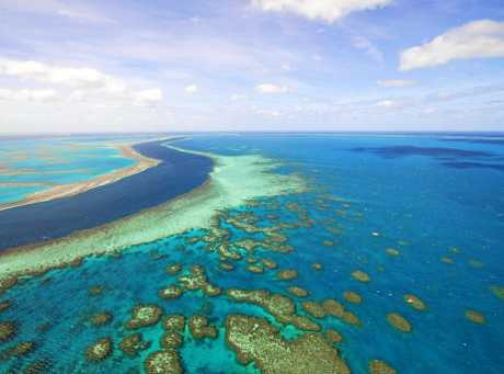 NATURAL BEAUTY: The Great Barrier Reef.