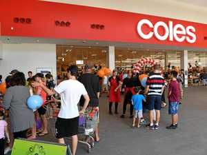 Hundreds of shoppers check out new Coles supermarket