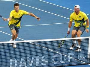 Double trouble: US keeps Davis Cup hopes alive