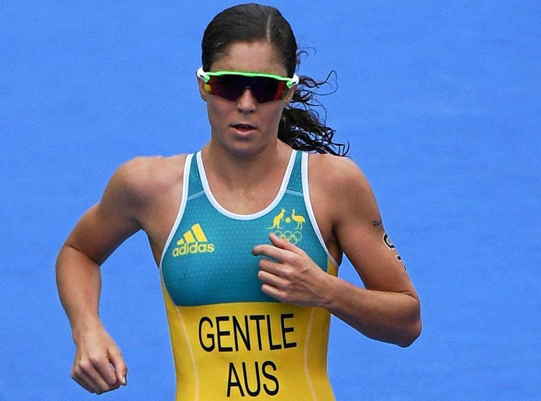Australian triathlete Ashleigh Gentle.