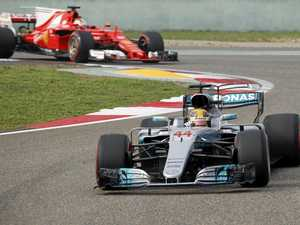 Hamilton on pole for Chinese Grand Prix