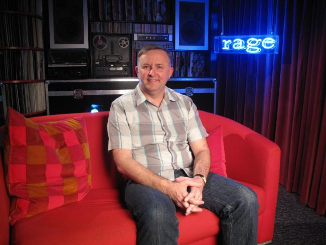 Politician Anthony Albanese was one of the controversial guest programmers during election time