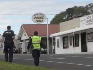 Police forensic team investigate Drayton crash
