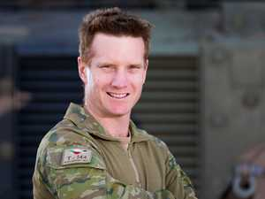 The Toowoomba-raised soldier risking his life in Iraq