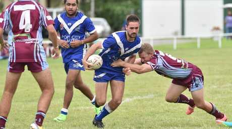 Rugby League - Roos V. Isis. Jack Horder (Roos).