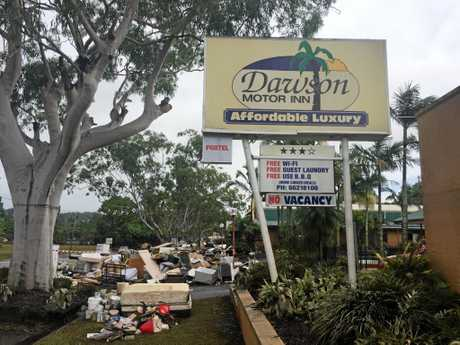Dawsons Motel was turned inside out by the 2017 Lismore Floods.