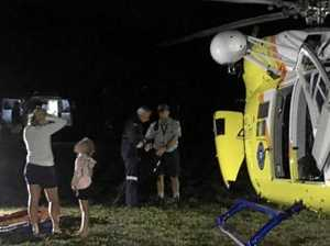 Man airlifted from Fraser Island