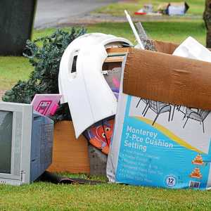 Footpath furniture dumping is pure laziness sunshine for Outdoor furniture kawana