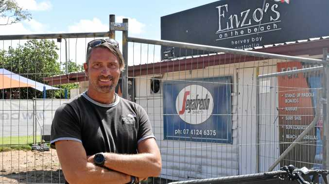 Enzo's on the Beach owner Enzo Andreuzzi plans to reopen his business in late August, complete with new facilities, a rooftop bar and a dinner menu.