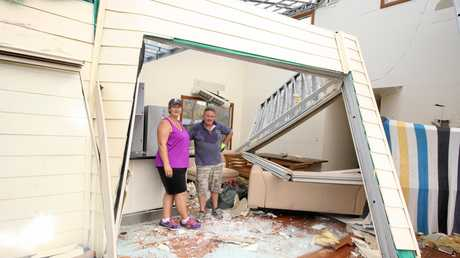 Kathryn and Bill Early's home in Hydeaway Bay was destroyed by Cyclone Debbie.