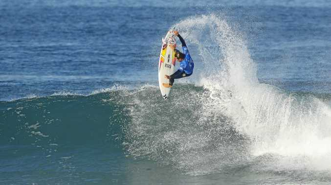 HAS PROMISE: Julian Wilson during a prior event in France.