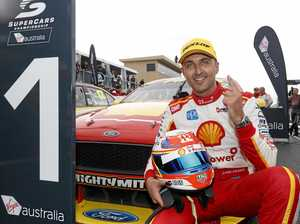 Coulthard leads one-two for Team Penske